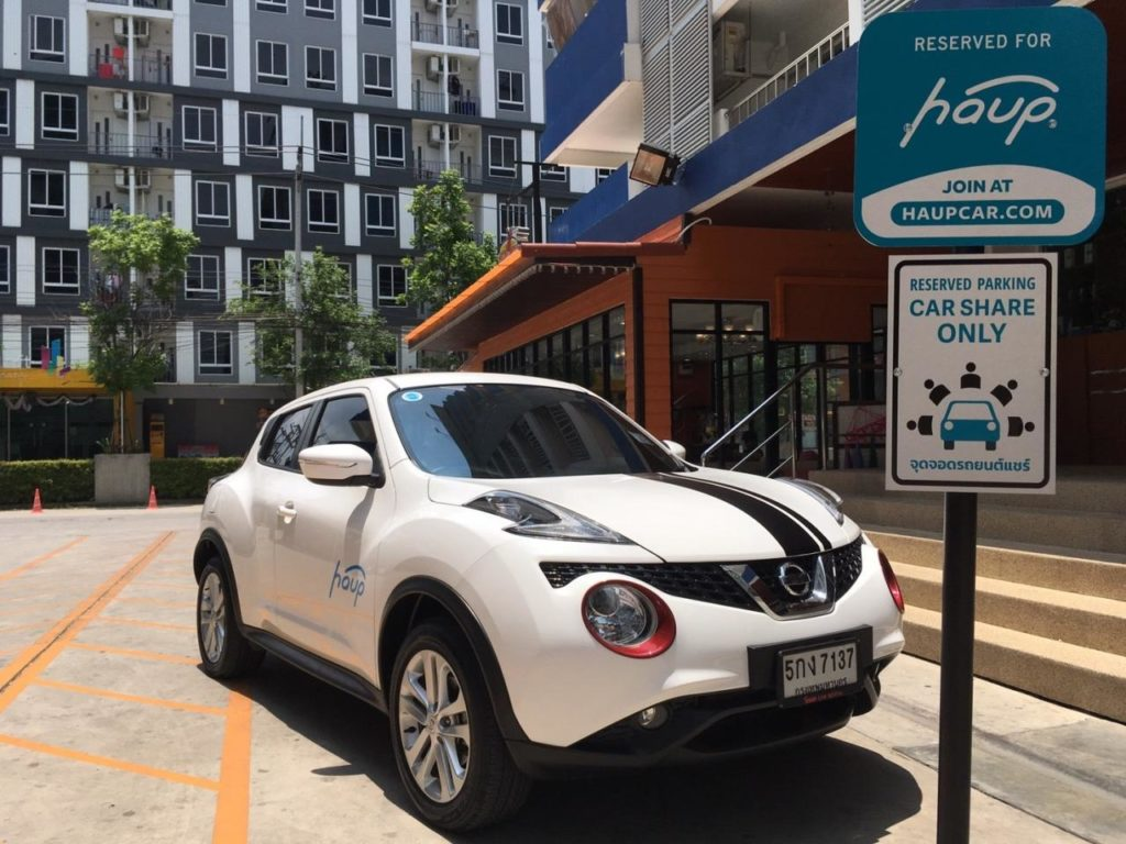 HaupCar Pioneering Latest Carsharing Technology in Thailand