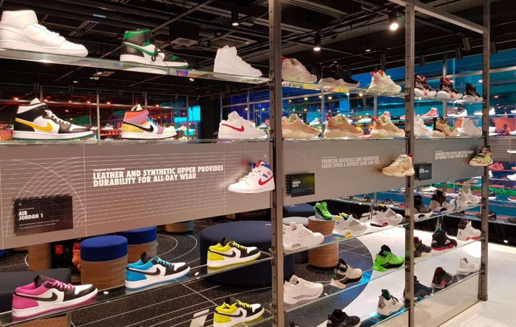 Nike Opens Their Flagship Bangkok Store at Siam Center