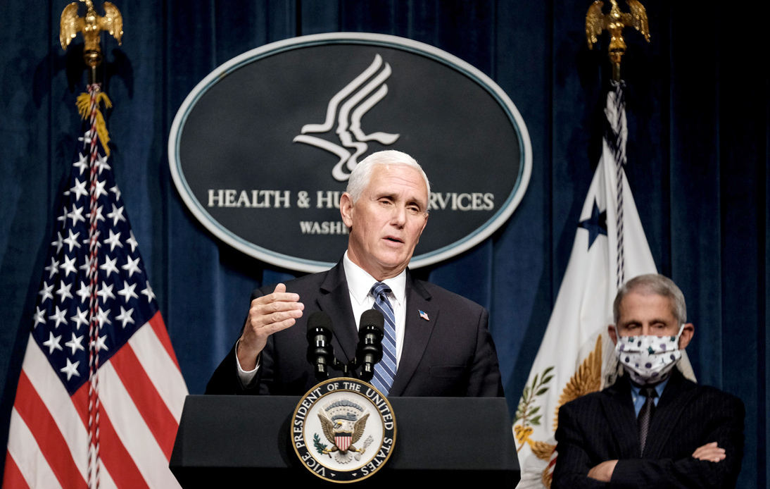 Pence Claims 'Remarkable Progress' in COVID-19 Fight, US Hits New Record