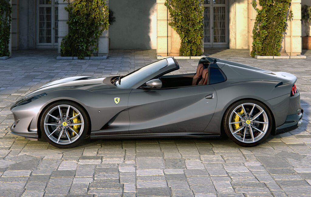 Ferrari Bring The 812GTS and F8 Spider Models to Thai Market