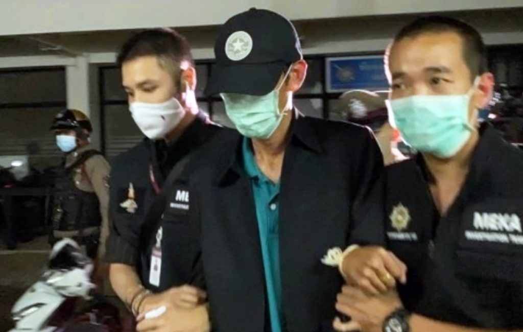 Man Held for Woman's Lumpini Park Abduction Faces Charges