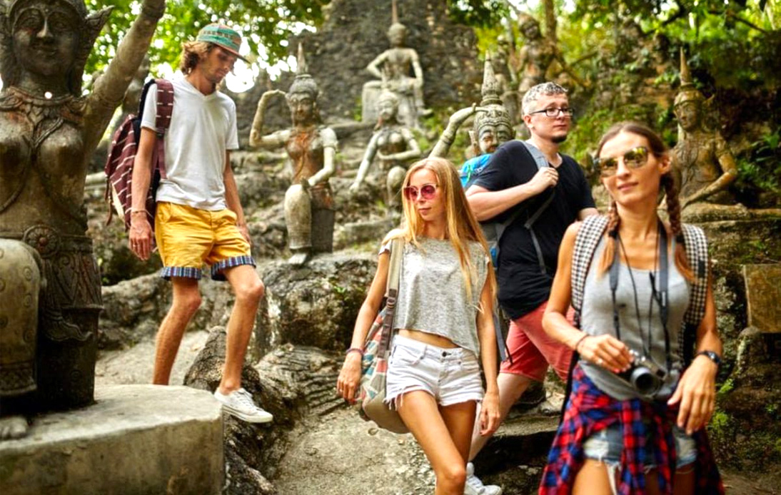 Tourists in Thailand