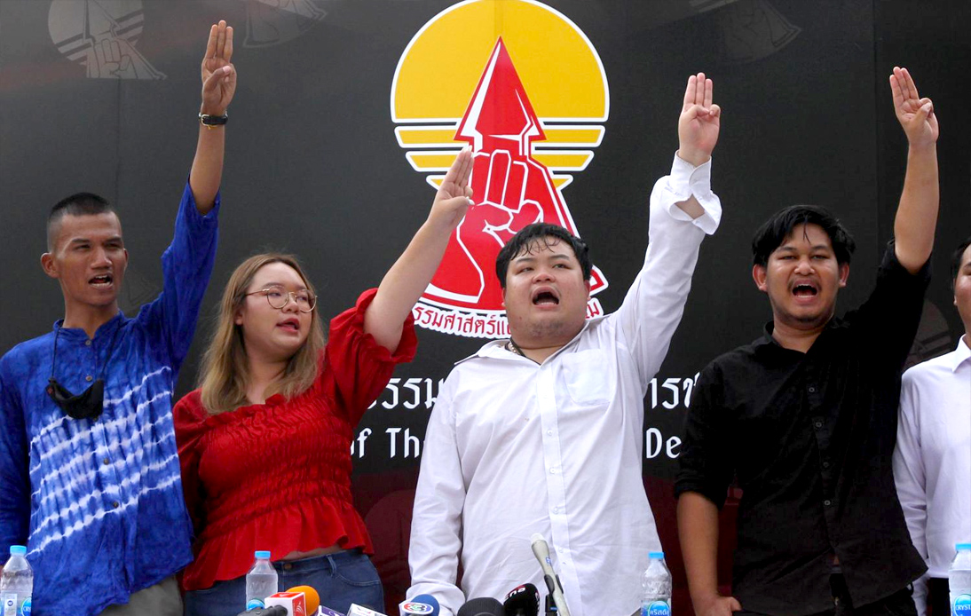 Thailand Protests 2020 Leaders