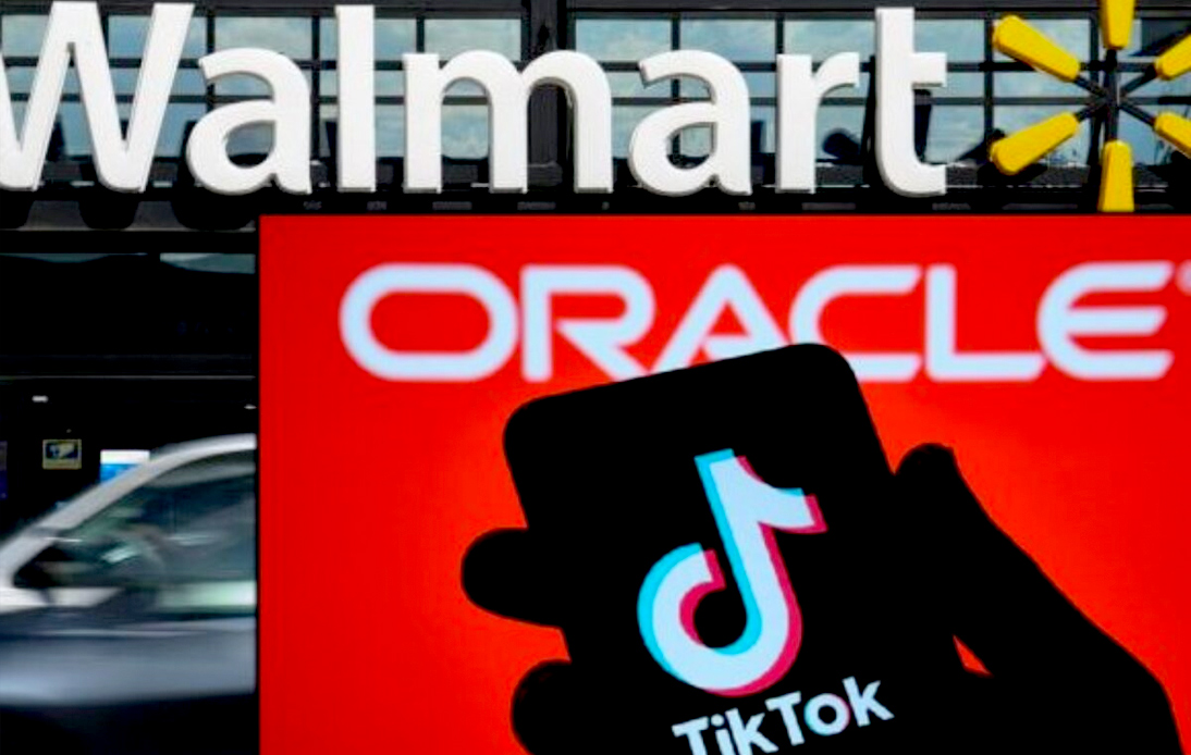 Both Oracle and Walmart will hold significant stakes in Tiktok