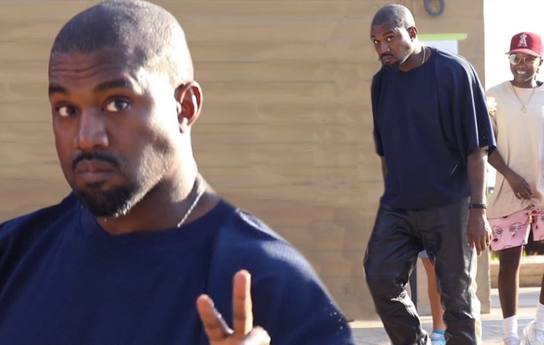 Kanye was attending meetings and interacting with people indoors without a mask
