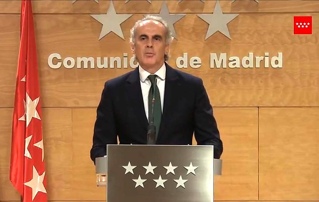 Enrique Ruiz Escudero, Regional Health Chief
