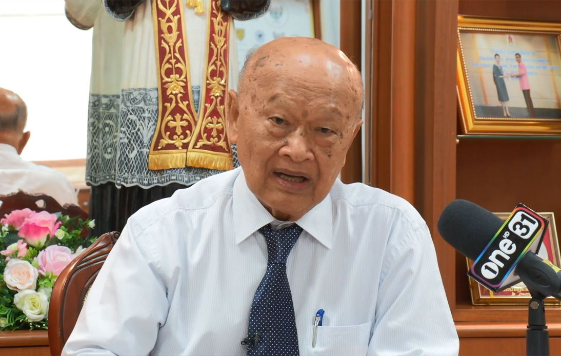 Piboon Yongkamol, the president of Sarasas schools
