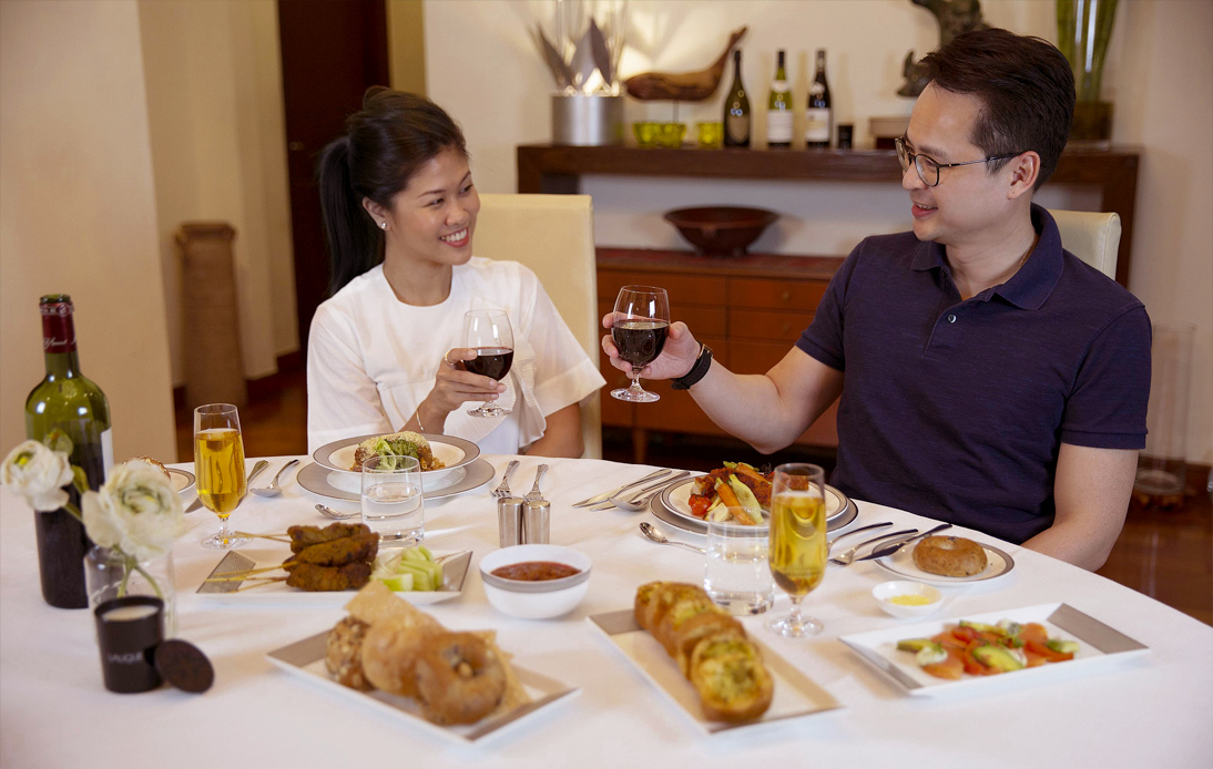 First class meals now home delivered by Singapore Airlines