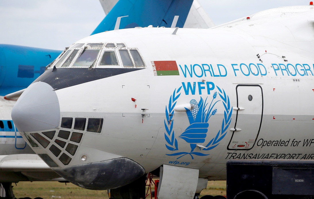 Image size: 980 × 551 Find other sizes of this image: All sizes - Small - Medium - Large Possible related search: world food programme United Nations World Food Programme (WFP) Plane