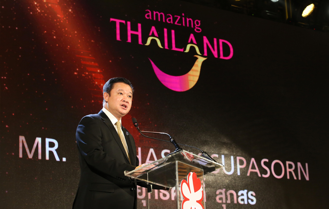 The Governor of The Tourism Authority of Thailand (TAT), Yuthasak Supasorn